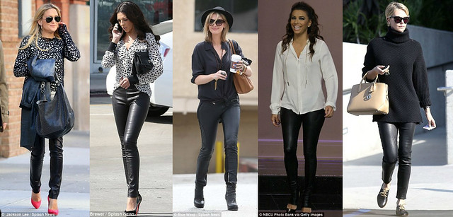 How-to-wear-leather-pants, Coloured leather trousers, how to style leather pants, leather trousers