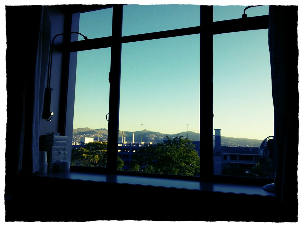The Fantastic View I had from my hospital bed.