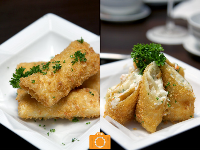 Coca Seafood Durian Springroll