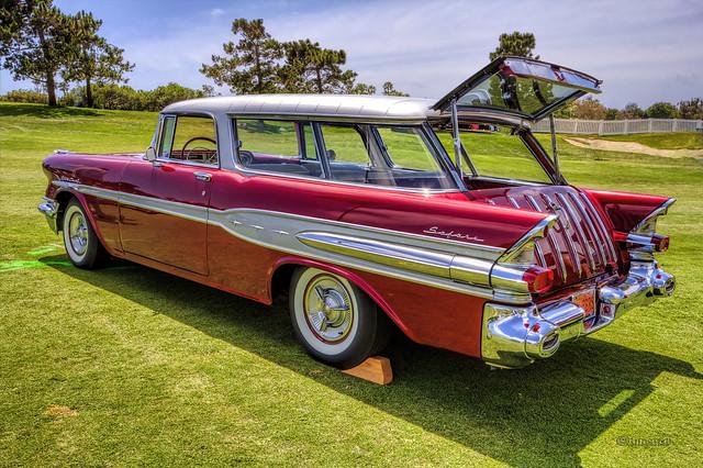 1957 Pontiac Starchief Safari Wagon Flickr Photo Sharing