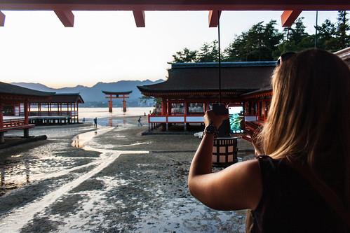 Santuario Itsukushima 1 by Ramon San Juan