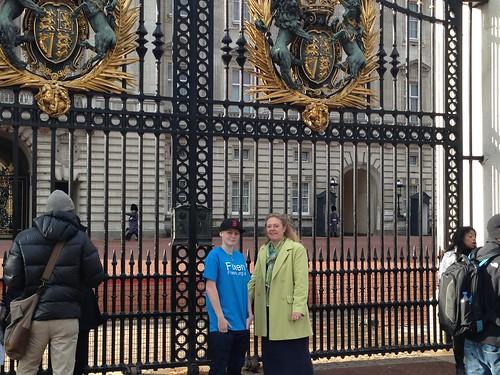 Fixers at Buckingham Palace