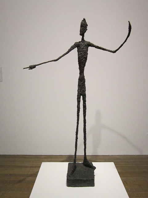 tate modern alberto giacometti quotman pointingquot flickr
