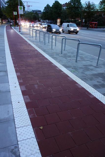 漢堡的自行車道