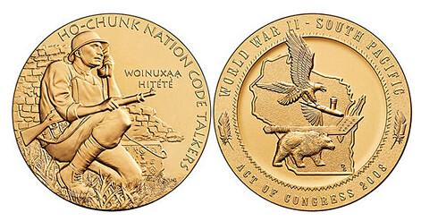 Ho-Chunk Nation medal