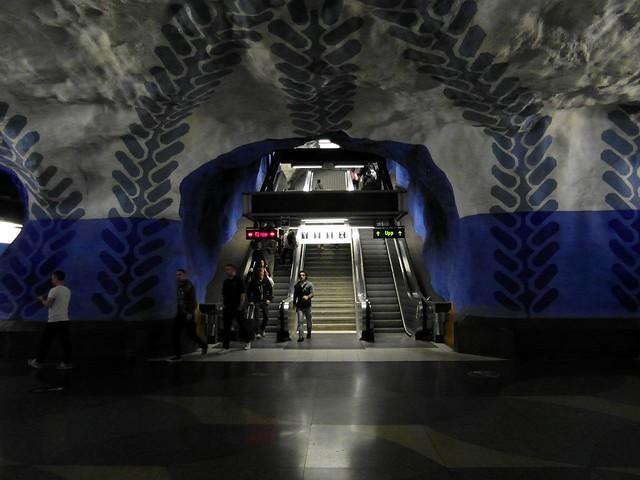 Stockholm - Tunnelbana - T-Centralen