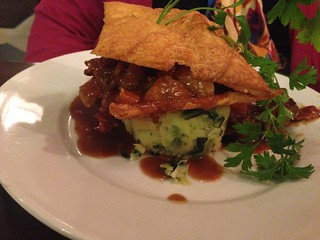 "Beef and Guinness Pie, Foley""s"