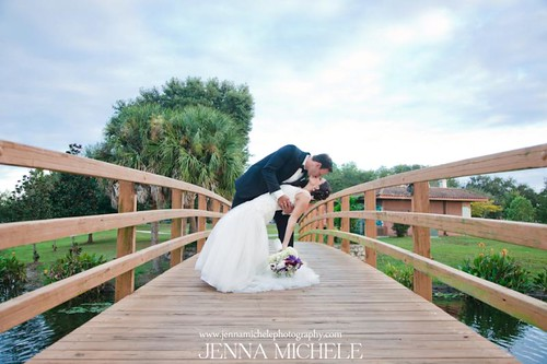 Winter Park Rustic Wine Themed Wedding
