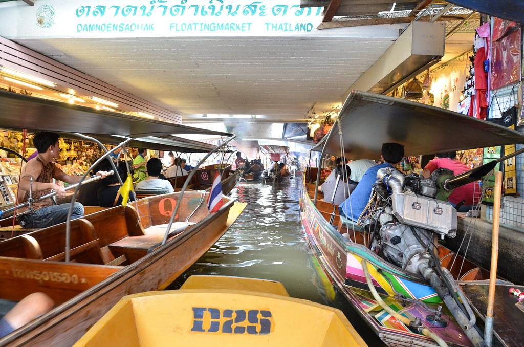 Damnoen Saduak Floating Market 曼谷丹能沙都水上市场