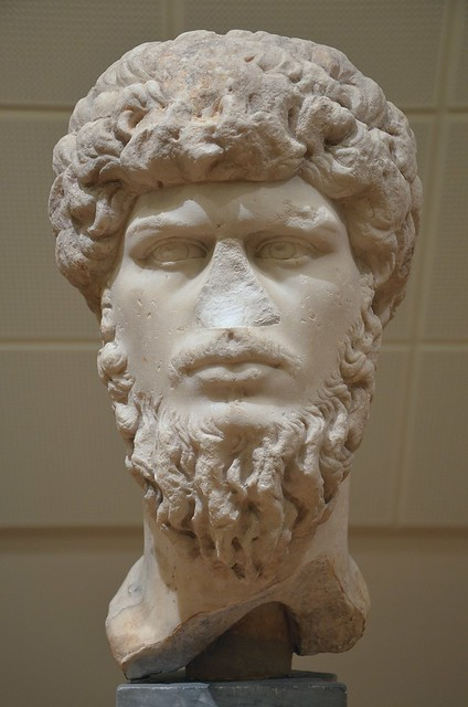 Lucius Verus, from Mahdia, Tunisia, National Museum of Denmark, Copenhagen