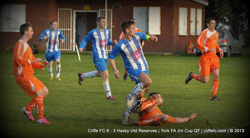 Cliffe FC 6 - 3 Haxby Utd Reserves (York FA Cup) 21Dec13