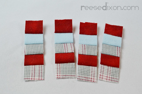 Miniature Quilt Ornament Tutorial Step 3