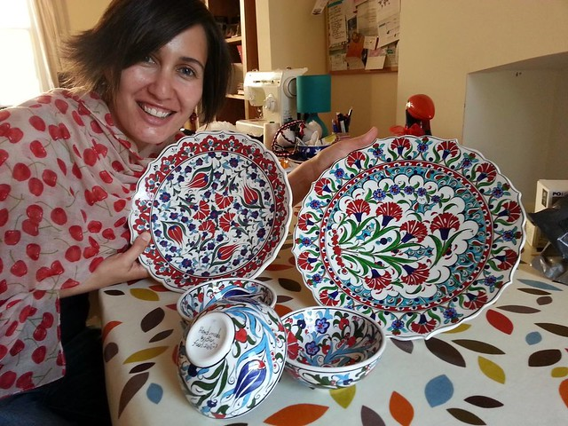 Istanbul - Decorated Plates