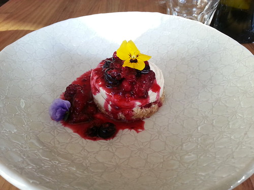 Raw Berry Cheesecake at Sister of Soul, St Kilda