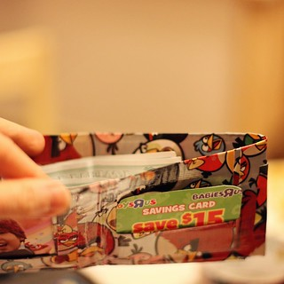'duck' tape wallets!