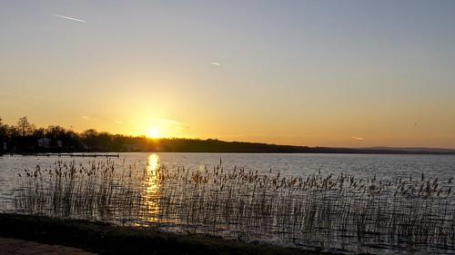 sunset lake see abend nikon meer wasser sonnenuntergang steinhude steinhudermeer 100er d5100