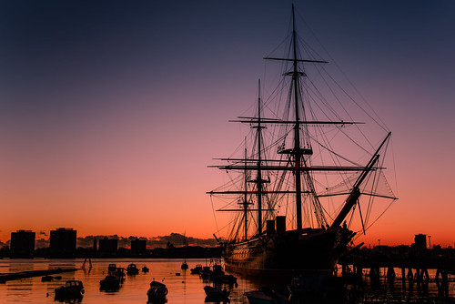 uk sunset sea reflections boats still nikon harbour january hampshire calm filter lee nd portsmouth grad southcoast warship d800 2014 sunsetsnapper afterglowoverhmswarrior