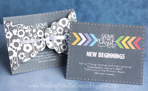 New Beginnings Invites by Kelly Wayment