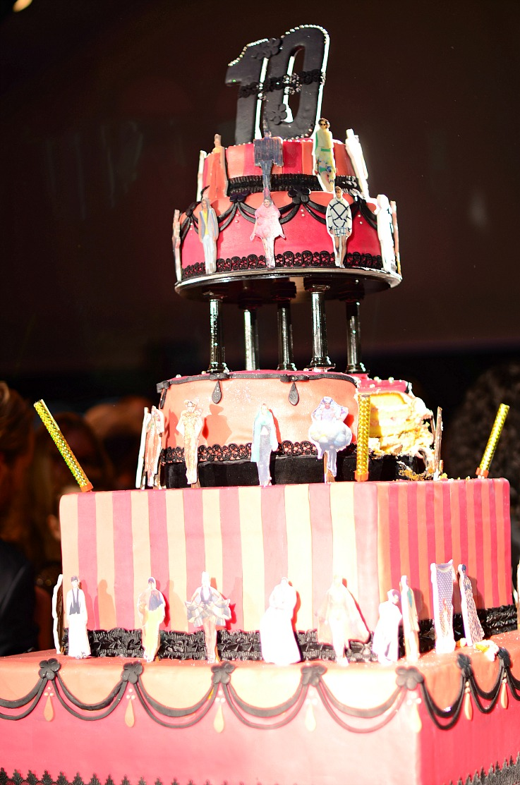 DSC_9696 Amsterdam fashion week ten years cake, taart, tien jaar fashion week Amsterdam