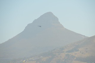 Lion's Head Mountain & Helicopter .