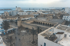 Sousse vue de la tour du Ribat, Tunisia
