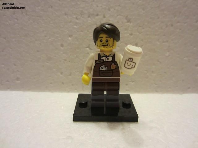 Minfig série 12 Larry le barista