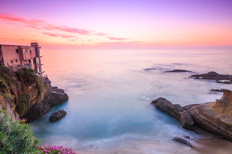 Secret Beach in Laguna-