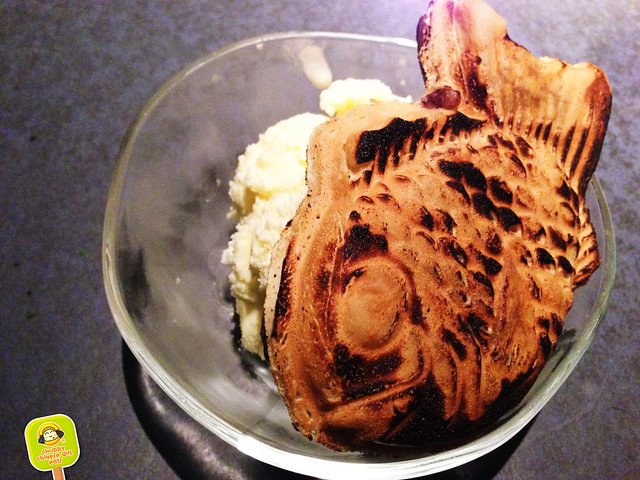 Yakiniku Gen - taiyaki with mascarpone ice cream