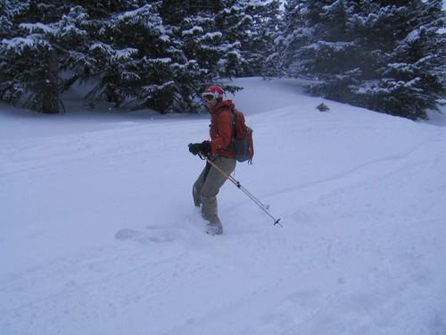 Bernice Skiing Mount Saint Vrain