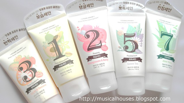 Etude House Every Month Cleansing Foam 1