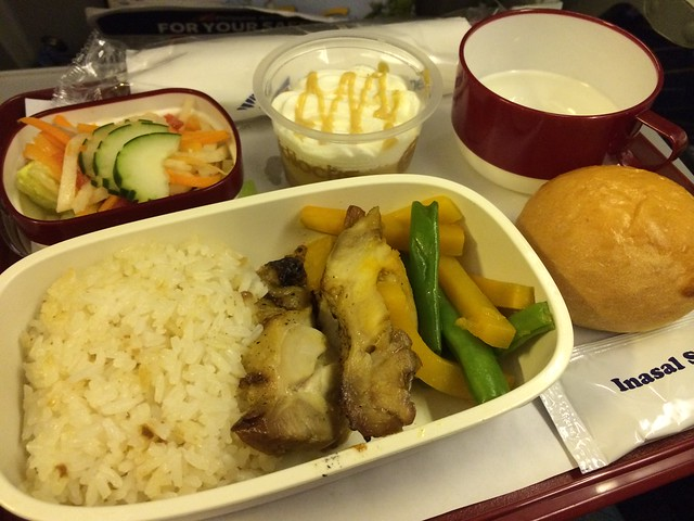 Chicken inasal - Philippine Airlines