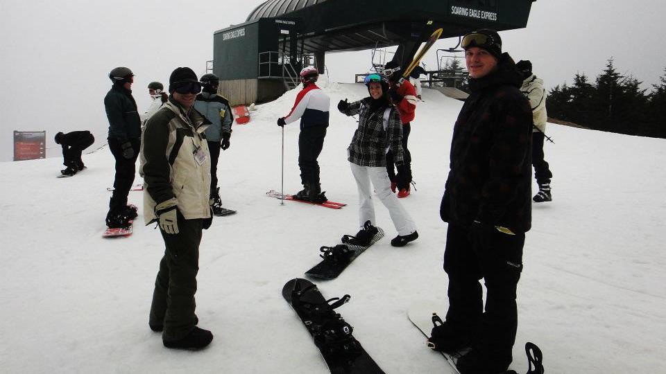 Snowshoe!