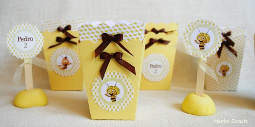 Pop corn Abeja Maya Merbo Events