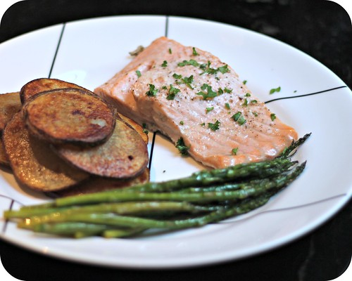 Garlic Butter Baked Salmon