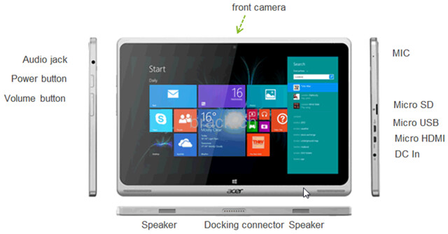 Acer Aspire Switch SW5, une tablette Windows avec dock clavier
