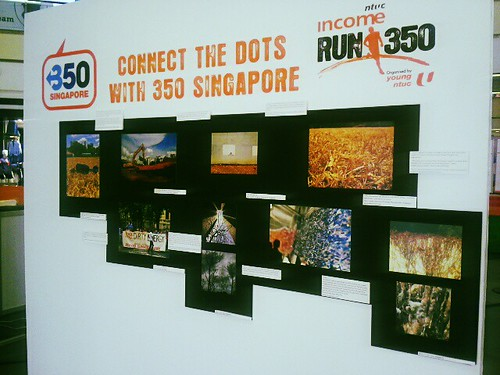 Connect the Dots with 350 Singapore Photo Board