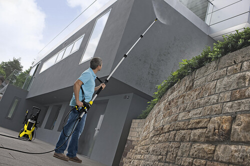 The Telescopic Spray Lance from Karcher can make hard-to-reach cleaning easy