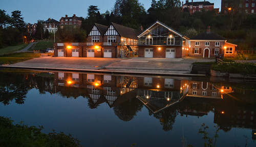 Shrewsbury, reflection