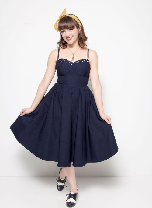 modcloth Neyla Dress in Bleu