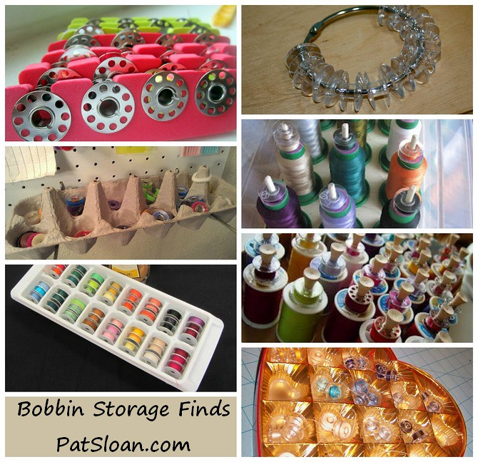pat sloan bobbin storage ideas