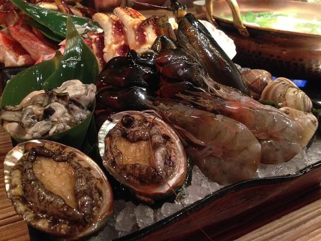 海鮮盤, 老饕精選海鮮鍋, 樂烹鍋物, 上引水產, 三井餐飲事業, 台北