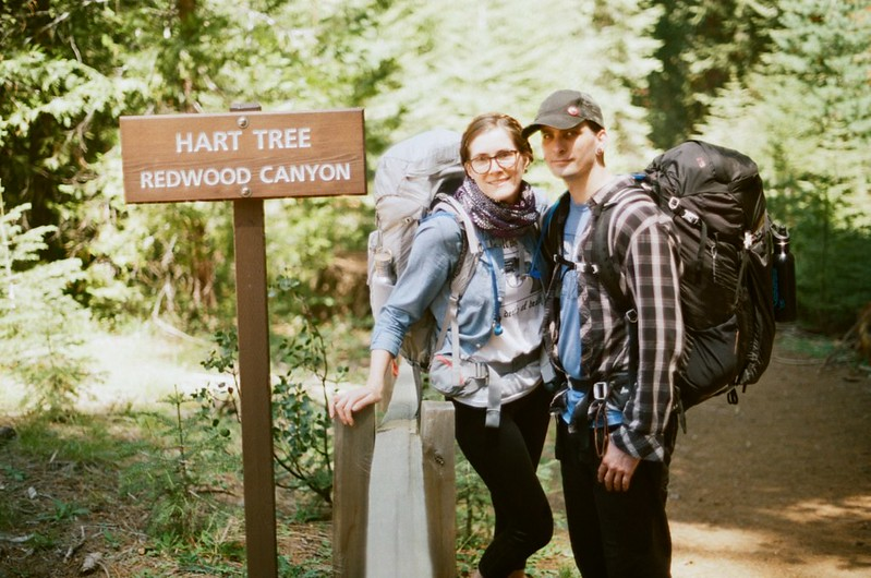 Me and Scott at the end of our backpacking trip.