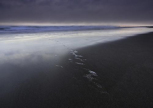 sunset sea cloud seascape landscape blacksand iceland sand surf day waves moody cloudy volcanic hafnarvik
