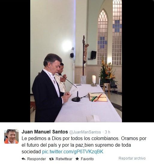Santos rezando