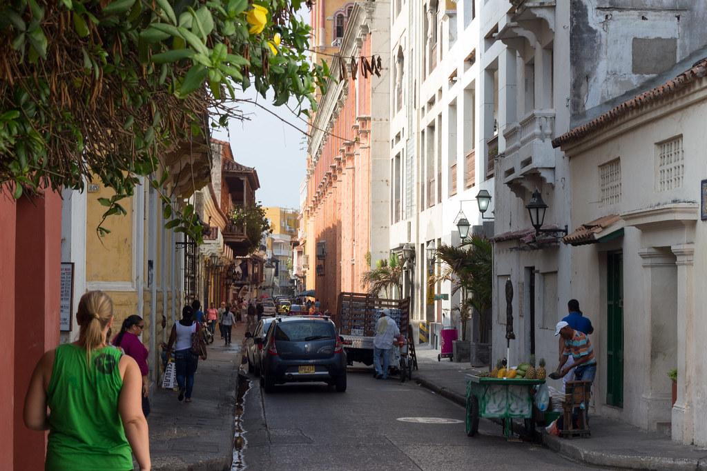 kadulla, Cartagena, Kolumbia