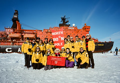 North Pole. 50 Years of Victory.  Harvard.