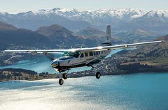 aviation, airplane, propeller driven aircraft, vehicle, cessna 206, cessna 172, flight, aircraft engine,