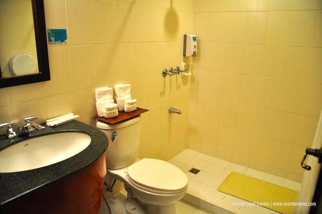 Bathroom at Microtel Cabanatuan