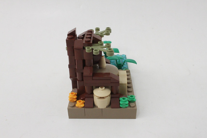 Review - LEGO Star Wars SDCC 2015 Dagobah Mini-Build από Brick Fan 19957492905_7f1100bd8a_c