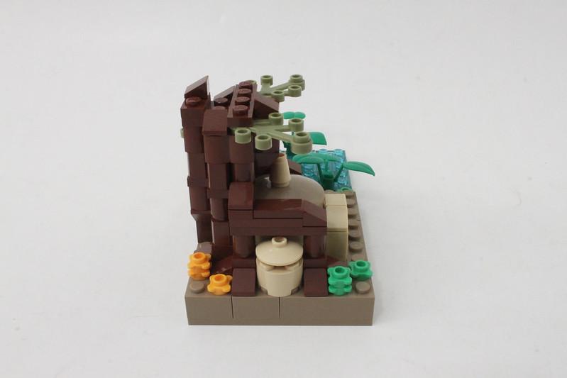 Review - LEGO Star Wars SDCC 2015 Dagobah Mini-Build από Brick Fan 19957492905_7f1100bd8a_c